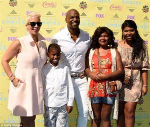terry crews kids terry crews and wife rebecca went 90 days without sex and