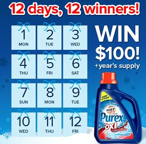 12 Days Of Giveaways Prizes - purex 12 days of giveaways sweepstakes thrifty momma ramblings