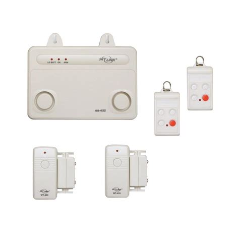 alert wireless security system home alarm systems
