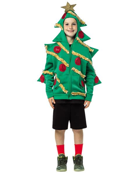 ugly christmas sweater party christmas tree hoodie adult