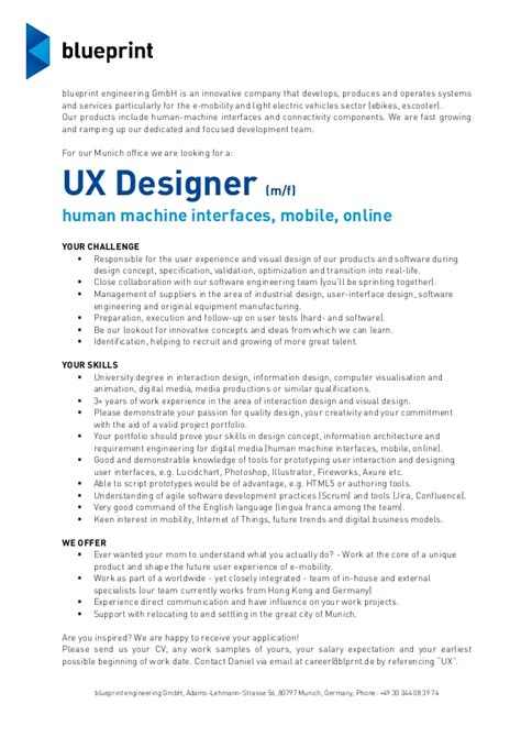 User Experience Architect Cover Letter by Ux Designer Description Cover User Experience Architect Cover Letter Ui And Ux Design
