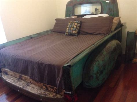 chevy truck beds chevy truck bed queen size 53 chevy rat rod furniture