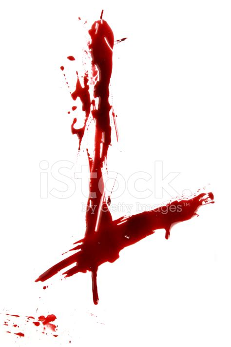 Dripping Bloody Alphabet L Stock Photos Freeimages Com