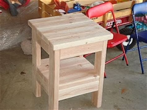 2x4 end table diy end tables the picture