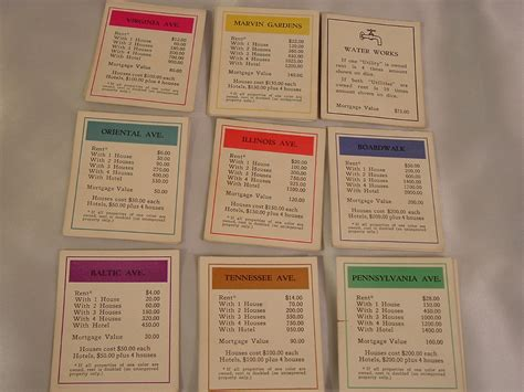 I Have A Borders Gift Card - 1935 darrow 2nd generation property cards