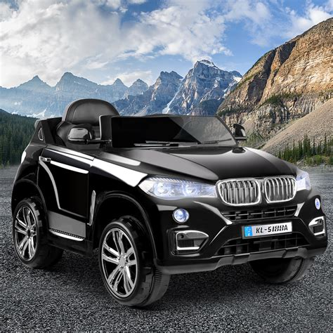 buy bmw style  electric toy car black kids ride ons
