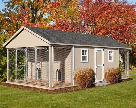 backyard dog kennel 12 x 24 amish built large quad dog kennel outdoor dog