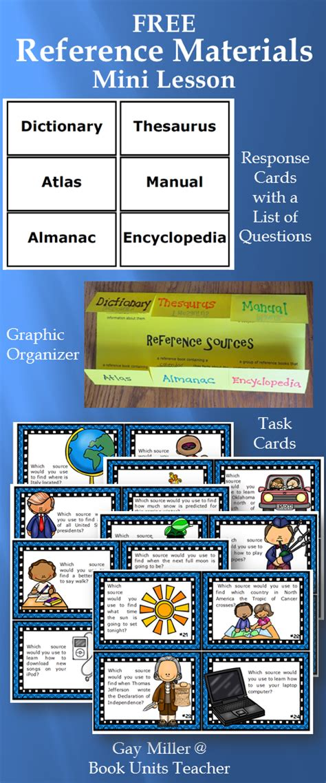 reference book materials book units page 6 of 31 classroom tips