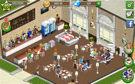 cafe android coffee shop cafe business sim v1 9 53 android apk indir