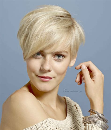 short blonde hairstyles pictures blonde hair with short sides and a short graduated neck