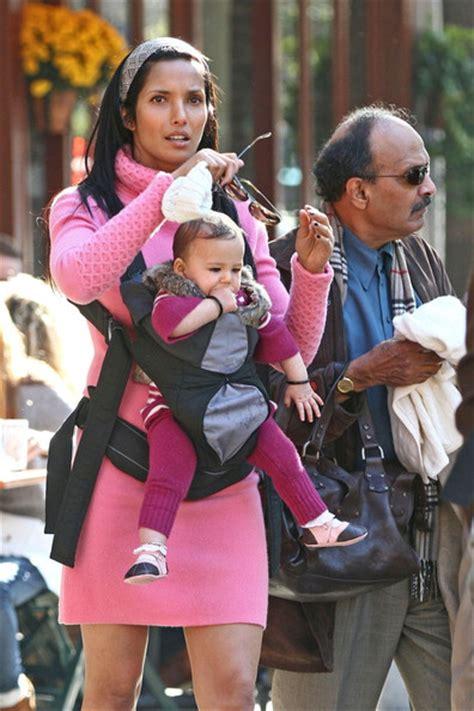 padma lakshmi baby daddy krishna lakshmi in padma lakshmi at bar pitti zimbio