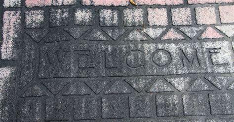 chalk paint erie pa how to repaint our welcome mat hometalk