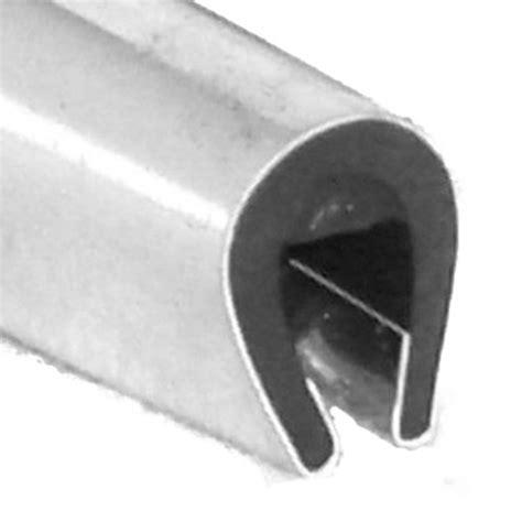 Upholstery Edging Trim Chrome U Channel Edge Trim 8mm X 5 5mm Per Metre Car