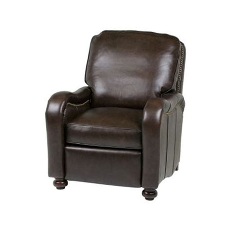 classic leather recliners classic leather 759 hlr recliners chippendale high leg