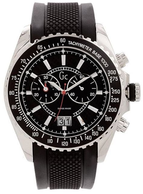 Gc Guess Collection X81011g5s Original Swiss Made s watches guess collection gc swiss made sport class chronograph mens was sold for