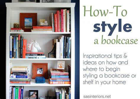 How To Style A Bookcase | styling a bookcase jenna burger