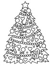 coloring page christmas tree coloring pages 41