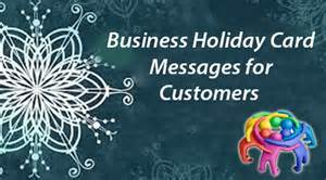 customers business card messages