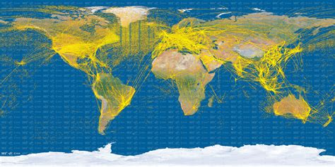 air traffic map usa proba v maps world air traffic from space