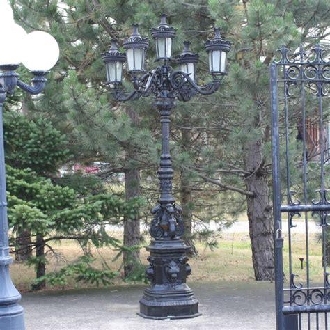 Cast Iron Garden L Post by Cast Iron Ornate L Post Irongate Garden Elements