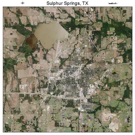 sulphur springs texas map aerial photography map of sulphur springs tx texas