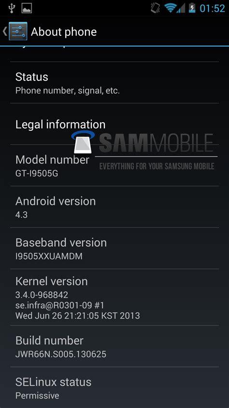 screenshot android galaxy s4 android 4 3 auf der edition des galaxy s4 gesichtet all about samsung