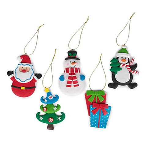 christmas clay dough ornaments 5 pack big lots