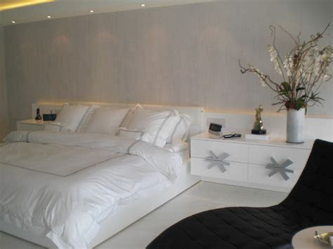 silver bedrooms master bedroom in white and silver
