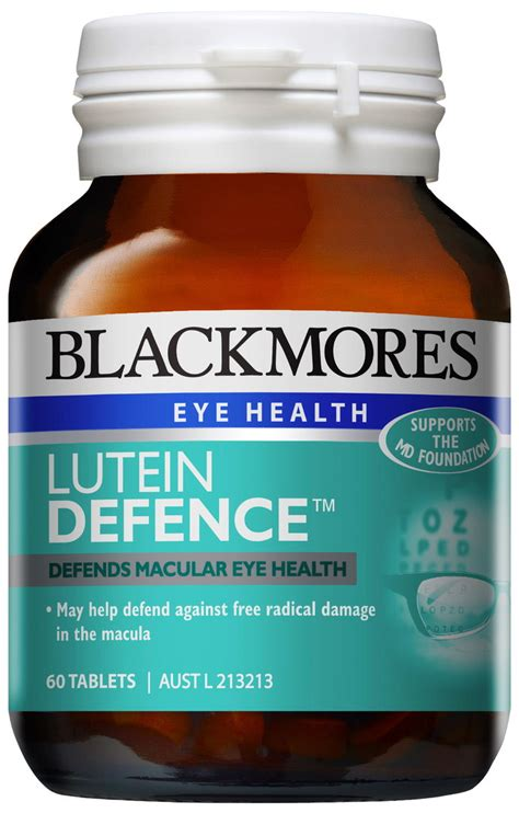 Blackmores Lutein Vision Jual Vitamin Mata blackmores lutein defence 60 tablets amcal chempro chemist