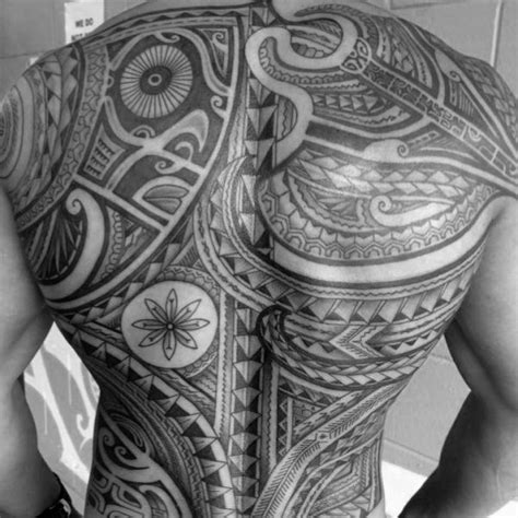 full back tribal tattoo designs 50 badass tribal tattoos for manly design ideas