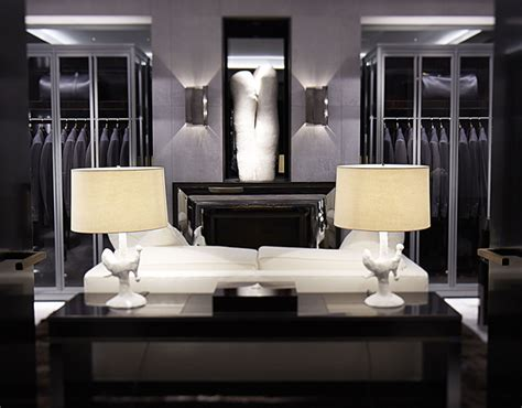 tom ford store in interiors living lounging