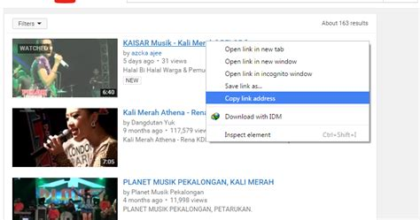 download youtube lewat idm cara download video dari youtube lewat android pc oprek