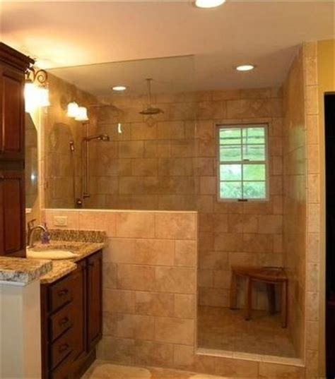 no door shower shower idea half wall no door 5x8 bathroom shower