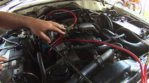 nissan patrol lacking  power youtube