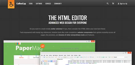 themes for coffeecup html editor 10 best free and premium html editors for web developers