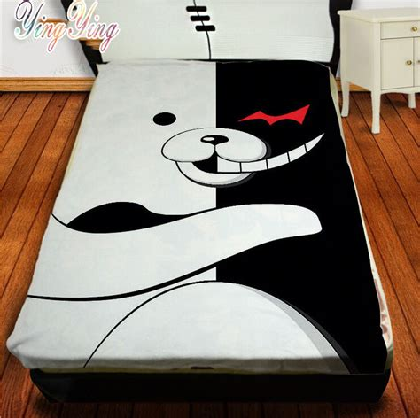 anime bed sheets new japanese anime cute danganronpa bed sheet blanket