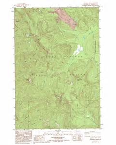 lookout mountain topographic map wa usgs topo 45122g1