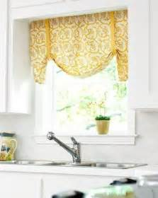 valance ideas for kitchen windows kitchen window valance diy