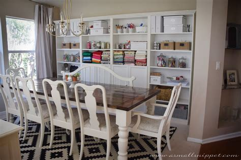 Ikea Dining Room Built In Dining Room Makeover Featuring Ikea Faux Built Ins A