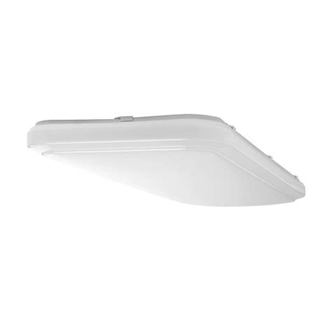 lithonia lighting 4 ft 41 watt white integrated led low