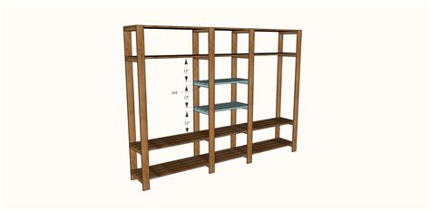 diy closet system built with pipe fittings plans ana white industrial style wood slat closet system with