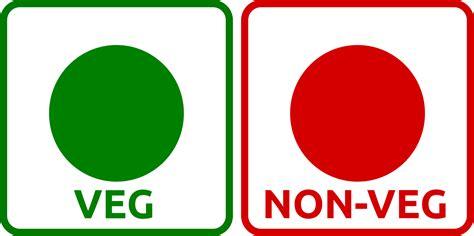 And Non Veg Question Clipart Veg Non Veg Icon