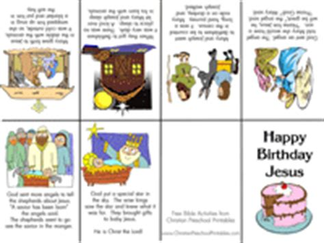 printable version of the nativity story christmas bible crafts