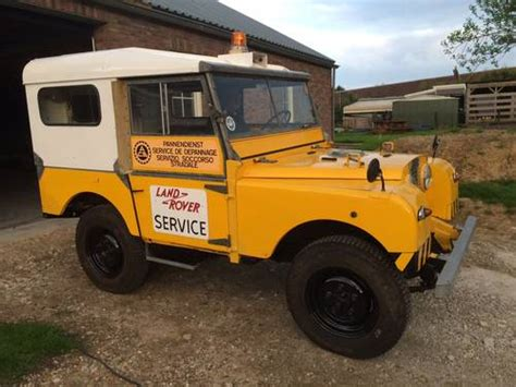 land rover series 1 hardtop 1953 land rover 80 quot series 1 hardtop lhd sold car and