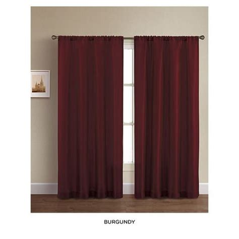 burgundy color curtains burgundy curtains for the home pinterest colors