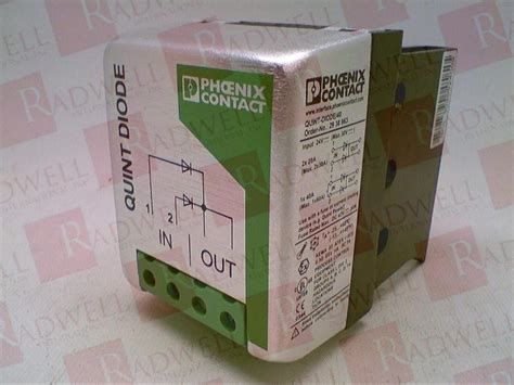 diode quint quint diode 40 by contact buy or repair at radwell radwell co uk