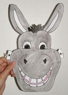 printable animal masks donkey free printable shrek donkey mask shrek party pinterest