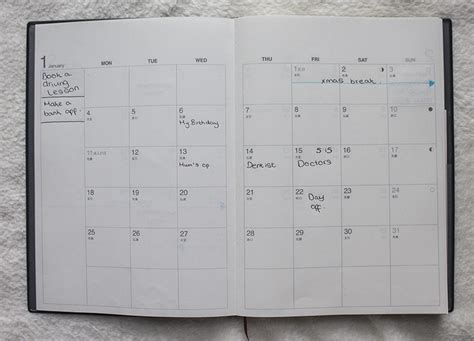 Muji Planner by My Favourite Planner From Muji Empfire