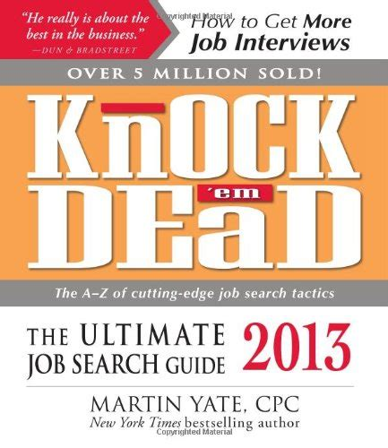 The Ultimate It Resume Guide Pdf by Pdf Knock Em Dead 2013 The Ultimate Search Guide