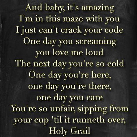 jay z feat justin timberlake holy grail lyrics jay z holy grail lyrics feat justin timberlake sad